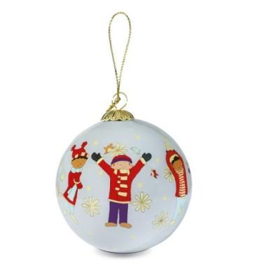 """Decorazione natalizia """"Fiocchi e bambini""""12"""