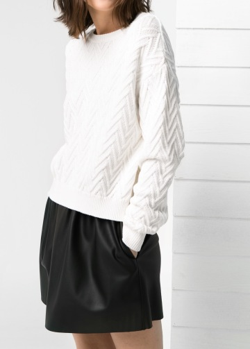 Pullover texture spigata2999mango